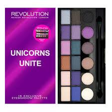makeup revolution salvation palette unicorns unite 9 40 eye shadow palettes unicorns makeup revolution and revolutions