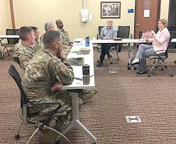 military to civilian panel shares experience to smooth transition 52nd brigade engineer battalion 2nd infantry brigade combat team 4th infantry division