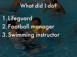 david salvá by davidcury13 what did i do lifeguard football manager swimming instructor