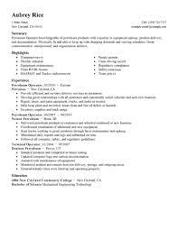 best petroleum operator resume example livecareer create my resume