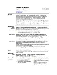 resume template  best word resume templates resume examples    example of best resume word format template   product and market strategy analyst experience