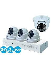 15% <b>IVUE Комплект Видеонаблюдения AHD</b> 1MPX Для Дома и ...