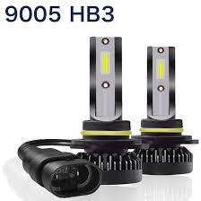 <b>2pcs</b>/<b>lot</b> 9005/HB3 Mini <b>Car</b> LED Headlight Conversion 6000K White ...
