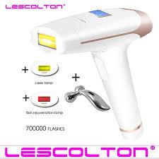 Original Lescolton <b>IPL</b> Epilator Laser Depiladora <b>Armpit Hair Bikini</b> ...