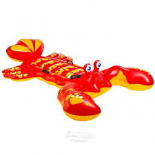 <b>Надувная игрушка</b> Лобстер 213*137 см красно-желтый купить в ...