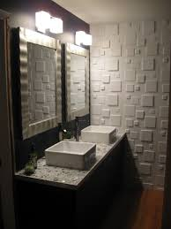fascinating modern bathroom designs with double sink ikea bathroom vanity with square wall mirror added wall bathroom bathroom furniture interior ideas mirrored wall