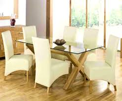 glass dining table set intended rectangle