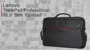 """<b>Сумка Lenovo ThinkPad</b> Professional <b>15.6</b>"""" Slim Top-load Black ..."""