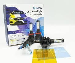 L1-H4 <b>Комплект светодиодных ламп</b> multicolor 3000/6000/8000K ...