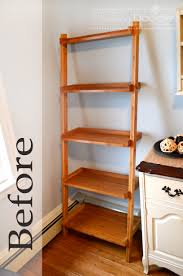 moving up the ladder darling doodles darling doodles diy ladder redo simply change the stain