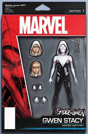 17 best images about spider gwen spiderman gwen spider gwen 1 action figure variant cover by john tyler christoper