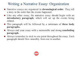 chronological order process essay How to Write a Chronological Essay Chronological essays are typically used towrite about an event or person from history Writing in chronological order