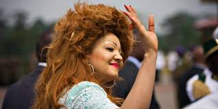 Image result for images of Chantal Biya