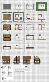 Minecraft floorplans by ColtCoyote on DeviantArtSmall Inn Mk by ColtCoyote