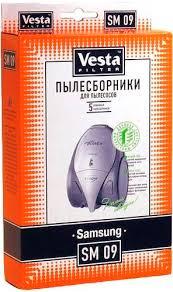 <b>Комплект пылесборников Vesta</b> SM09 для пылесосов Samsung ...