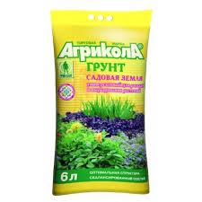 <b>Грунт Садовая земля универсальный</b> Агрикола 6 л; заказать в ...
