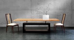 modern wood dining table design
