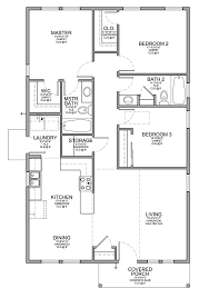 Small houses  Floor plans and A small on PinterestBaths Add  Baths  Affordable Homes  Smaller Affordable  Affordable House Plans  Rd Bedroom  Bedroom Bath House Plan  Small One Floor House Plans