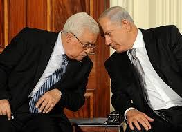 نتیجه تصویری برای محمود عباس با اسرائیل