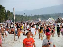 Image result for tourist arrival sa boracay