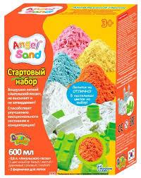 <b>Кинетический песок Angel</b> Sand Крепость — купить по выгодной ...