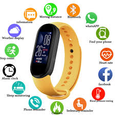<b>TWS M5 Smart Watch</b> Remote Photo - Self Camera Bluetooth Watch ...