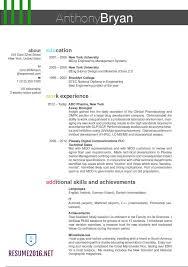 best resume format 2016 best format for resumes