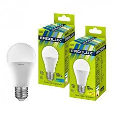 Купить оптом <b>Лампа светодиодная Ergolux LED-A60-12W</b>-E27-4K ...