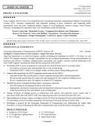 sample resumes for mechanical engineers template for project engineering resume examples for students