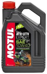 <b>Моторное масло</b> полусинтетика <b>motul atv</b>-<b>utv</b> expert 4t 10w-40 (4 ...