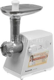 Купить <b>Мясорубка PANASONIC MK-MG1300</b>, белый в интернет ...