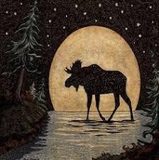 <b>Moose</b> Coaster Set: лучшие изображения (125) | Лось, Принты ...