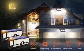 Solar Motion Sensor Light Outdoor - Moobibear ... - Amazon.com