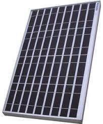 EXIDE <b>40W 12V</b> Polycrystalline PV <b>Solar Panel</b>: Amazon.in: Garden ...