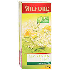 <b>Напиток Milford Silver</b> Linden-Honey <b>чайный</b> со вкусом меда и ...