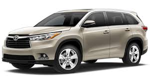Image result for picture of 2016 toyota highlander