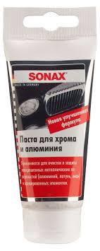 Паста для <b>хрома и алюминия</b> Sonax 0,075л - купить по цене 326 ...
