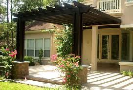 DIY Pergola Attached to House  Attached Pergola Plans   End MassPergola Designs Attached to House Plans