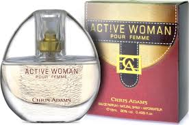 <b>CHRIS ADAMS</b> Active Woman <b>Парфюмерная</b> вода 15 мл
