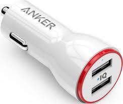 Автомобильное зарядное устройство ANKER PowerDrive 2 24W ...