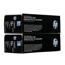 <b>Тонер</b>-<b>картридж HP Q2612AF 12A</b> Black Dual Pack - купить, цена ...