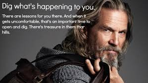 """Open at your own speed..."""" - Jeff Bridges, from his AMA[815x582 ... via Relatably.com"""