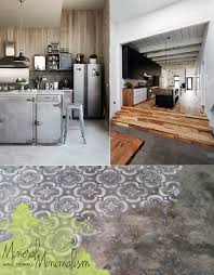Concrete Floor Kitchen Design550550 Concrete Floor Kitchen Concrete Kitchen Floors