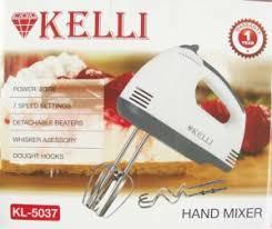 <b>Миксер KELLI KL-5037</b> 7 скоростей 200Вт насадки для замеса ...