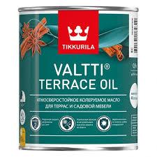 Масло <b>деревозащитное</b> для террас <b>Tikkurila Valtti</b> Terrace Oil ...