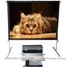DfLabs High Quality <b>120INCH 16</b>:<b>9</b> Front Projection Portable Fast ...