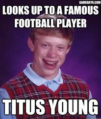 Memes: Titus Young arrested for third time in a week, seriously via Relatably.com