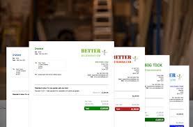carpenters invoice template yourtradebase carpenters invoice templates