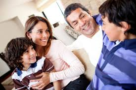 Image result for parent talking with child