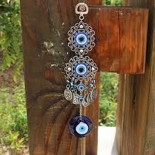 <b>Fashion</b> Turkish <b>Blue Evil Eye</b> Bedroom Ornament Amulet Wall ...